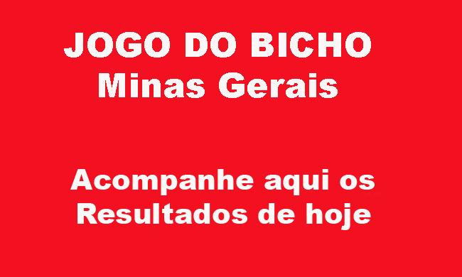 JOGO DO BICHO MINAS GERAIS