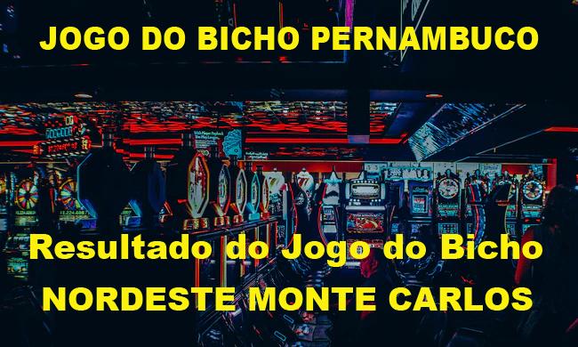 JOGO DO BICHO PERNAMBUCO (NORDESTE MONTE CARLOS)
