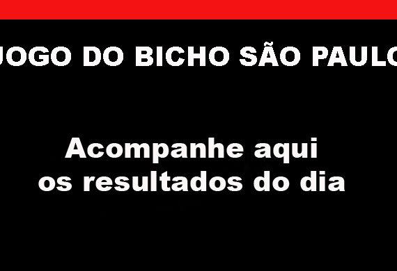 JOGO DO BICHO SÃO PAULO