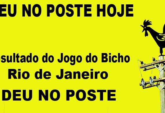 JOGO DO BICHO - DEU NO POSTE