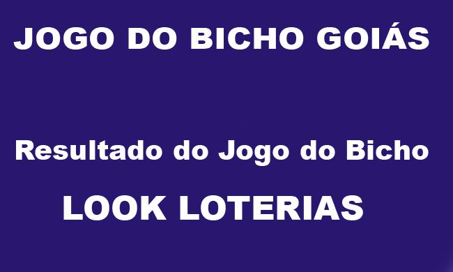 Jogo do Bicho Goiás - Look Loterias