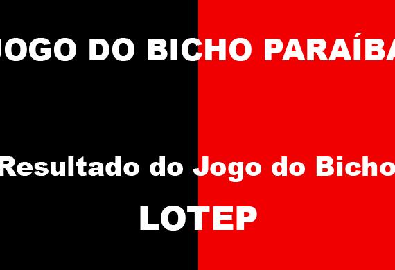 JOGO DO BICHO PARAÍBA -LOTEP