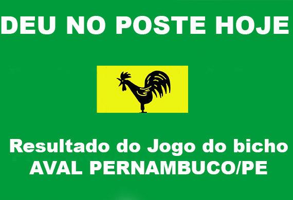 Jogo do Bicho Pernambuco - Aval